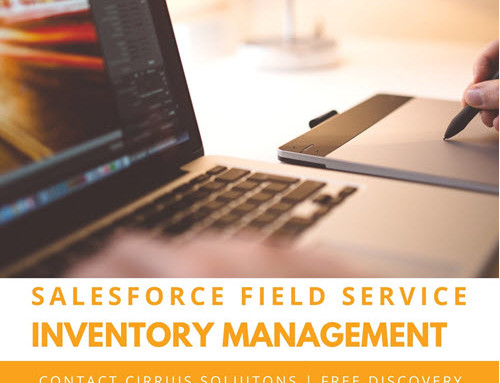 Salesforce Field Service (FSL) Inventory Management